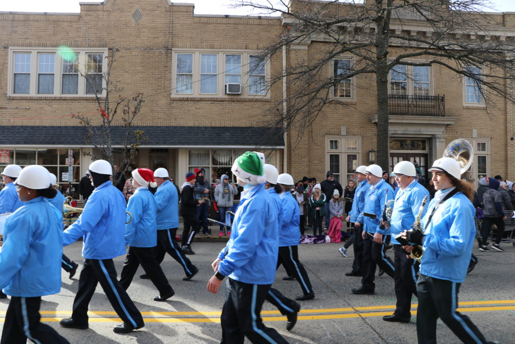 Bonsal Blues Marching Band Collingswood parade 2019